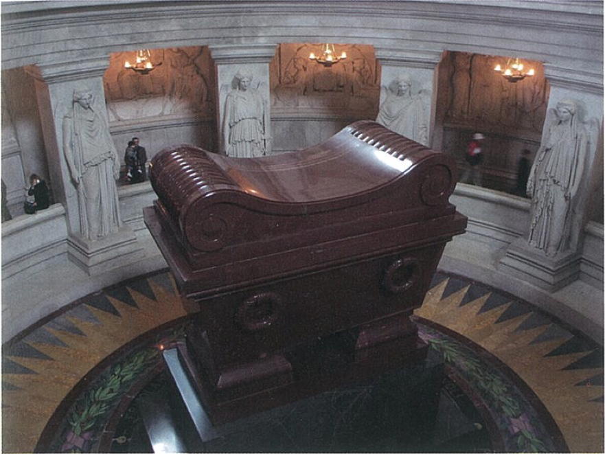 Fig.12. Louis-Tullius Joachim Visconti (1791-1853), Tomb of Napoleon I, Saint-Louis des Invalides Cathedral, Paris, 1848. Photo by Kristian Tvrdak.