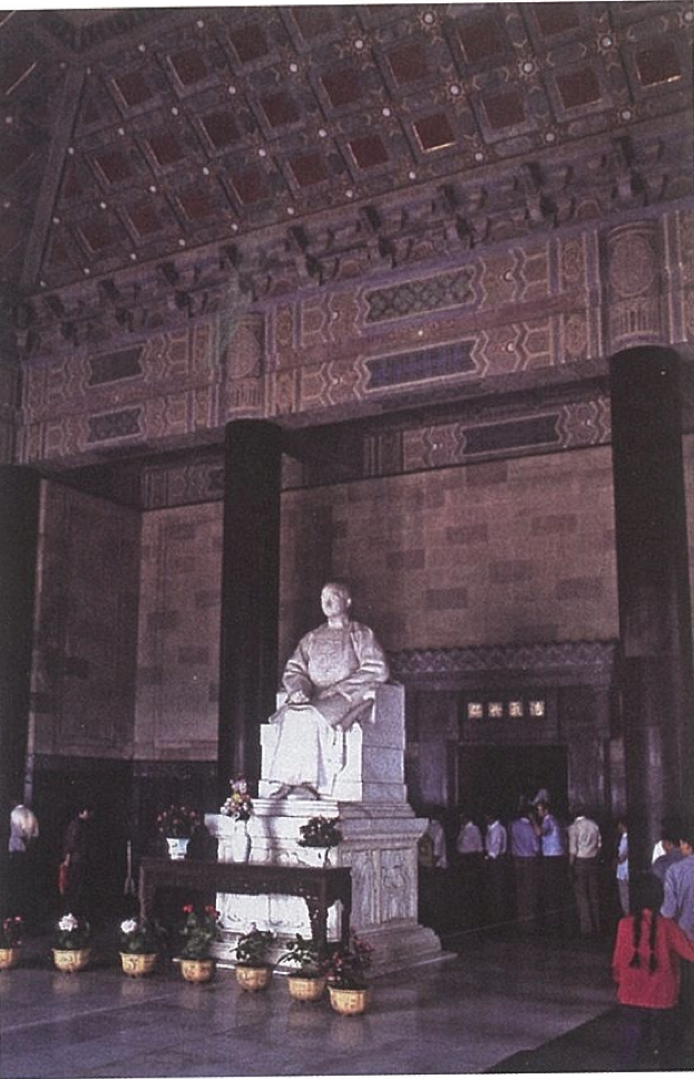Fig.14. Paul Landowski, Sun Yat-sen Seated, Sun Yat-sen Mausoleum Ceremonial Hall, Nanjing, 1930. Photo by Lothar Ledderose.