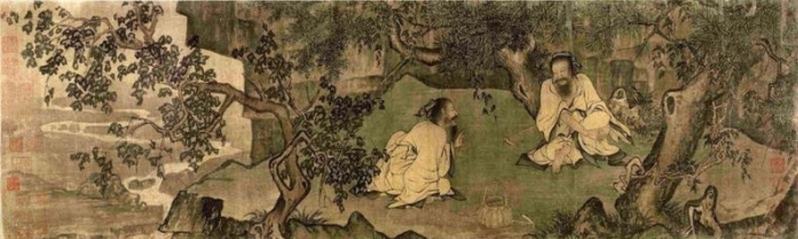 'Picking Grass', by Li Tang of the Northern Song 宋李唐《採薇圖》
