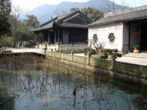 Wang Youjun Temple, the Orchid Pavilion Park, March 2009. [Photo: GRB]