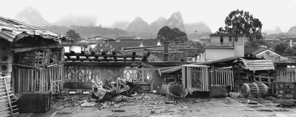 Yangshuo, Guangxi province, 1991. Photograph by Lois Conner.